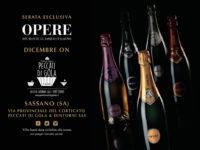 Da PECCATI DI GOLA, Silla di Sassano – A dicembre serate esclusive OPERE, spumante classico italiano