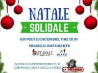 """Domani al Centro Commerciale Diano """"Il Natale Solidale"""" dell'Associazione Monte Pruno Giovani"""