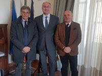 I Presidenti della Provincia di Salerno e dell'Ordine degli Ingegneri si incontrano per fare rete