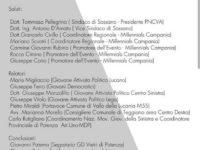 """Questo pomeriggio a Sassano la II edizione del confronto giovanile dal titolo """"La piazza delle idee"""""""