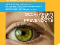 Screening oculare gratuito. Appuntamento domani negli ospedali di Polla, Sapri ed Eboli