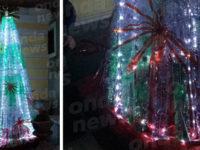 Un albero di Natale con bottiglie di plastica riciclate. A Montesano la singolare iniziativa ecofriendly