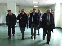 """Chiusura Punto Nascita a Polla. Il Presidente della Commissione Sanità Sileri visita il """"Luigi Curto"""""""