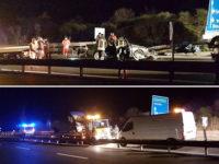 """Tragico incidente sulla """"Basentana"""", auto si schianta contro guard rail. Perde la vita 40enne campano"""