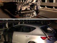 Scontro tra 5 auto sul raccordo Sicignano-Potenza all'altezza di Picerno. Una persona gravemente ferita