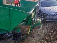 Incidente a San Rufo in località Fontana Vaglio. Operatore ecologico investito da un'auto