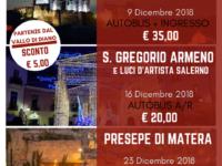 SPECIALE NATALE 2018 – Le iniziative dell'Agenzia VIAGGI SPERANZA di Caselle in Pittari