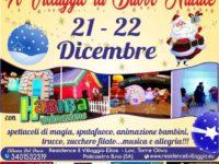 Il 21 e il 22 dicembre il Villaggio di Babbo Natale apre le sue porte a Policastro Bussentino