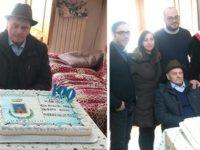 La comunità di San Gregorio Magno festeggia i 100 anni di nonno Marino Angelicchio