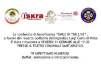 Sant'Arsenio: l'11 gennaio tombolata di beneficenza per il reparto di Pediatria dell'ospedale di Polla