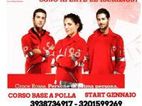 Al via l'11 gennaio a Polla il corso base per diventare volontari della Croce Rossa Italiana