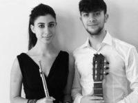 La flautista Ylenia Cimino e il chitarrista Pasquale Vitale domani in concerto a Salerno