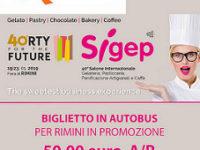 Salone Internazionale Sigep di Rimini. Biglietto in promozione con l'Agenzia Viaggi Ruocco