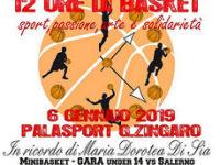 """Sala Consilina: domani la """"Maratona 12 ore di Basket"""" per combattere la Sindrome di Rett"""