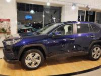 Sala Consilina: presentato il NuovoRAV4 Hybrid alla concessionaria ToyotaCar One