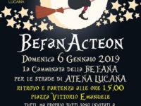"""Atena Lucana: domani l'evento """"BefanActeon"""", la camminata della Befana per le strade del paese"""