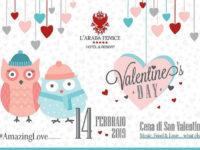 """San Valentino tra buon cibo e percorsi SPA a """"L'Araba Fenice Hotel & Resort"""" di Altavilla Silentina"""