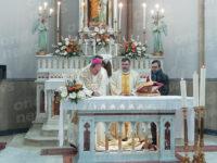 La comunità di Montesano Capoluogo dà il benvenuto al nuovo parroco don Nicola Coiro