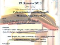 """Domani a Montesano la presentazione del progetto dedicato al """"Borgo della Lettura"""""""