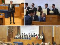 Alessandro Torresi di Villa d'Agri, tra i migliori laureati d'Italia, premiato dalla Camera dei Deputati