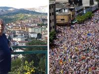 Venezuela sull'orlo della guerra civile. Da Caracas testimonianza di Carlo Sguerra di Vietri di Potenza