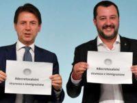 """La Cgil Salerno contro il Decreto Sicurezza. Insorge la Lega:""""Traditori del popolo italiano"""""""