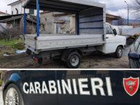 Teggiano: trasporta legna con un autocarro rubato. Denunciato 32enne marocchino