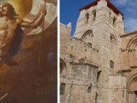 """Il Cilento nel Santo Sepolcro. La """"Resurrezione"""" del pittore De Matteis tra le più viste al mondo"""