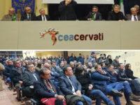 Vincenzo De Luca a Sanza per sottoscrivere la strategia condivisa di valorizzazione del Monte Cervati