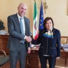 Progetto Tempa Rossa. Il Prefetto di Potenza riceve l'Amministratore Delegato di Total E&P Italia
