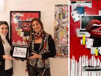 """L'opera di Antonietta Morena di Teggiano vince il primo premio """"Alfons Mucha"""" ad Arte Praga 2019"""