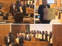 Rosangela Macchia, 27enne di Sant'Arsenio, tra i migliori giovani laureati d'Italia premiati alla Camera