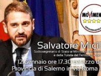 """Rifiuti zero e cultura del riciclo. A Salerno parte il tour """"Zero Waste"""" con il Sottosegretario Micillo"""