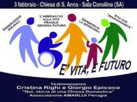 """Sala Consilina: domani presso la chiesa di Sant'Anna la """"Giornata diocesana per la Vita"""""""