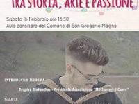 San Gregorio Magno: domani iniziativa sull'organetto con il Campione Italiano 2018 Vito Mariseno