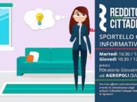 Operativo ad Agropoli uno sportello informativo sul Reddito di cittadinanza
