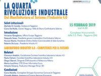 """Domani a Teggiano l'incontro """"Dal Manifatturiero al Turismo: l'Industria 4.0"""""""