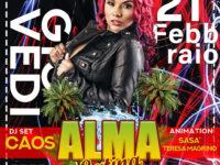 21 febbraio – Il sound caraibico protagonista di ALMA LATINA al Casale San Pietro