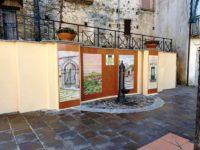 Restaurata a Celle di Bulgheria l'antica fontana della Madonna delle Neviin Piazza Umberto I