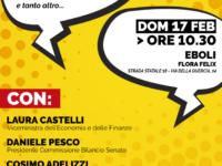 """""""Raccontiamo la Manovra del Popolo"""". Il viceministro Castelli ed esponenti M5S domani ad Eboli"""