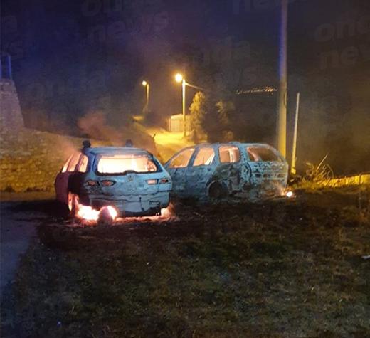 Paura a San Nicola di Centola. Incendiate due auto appartenenti agli uomini della Protezione Civile