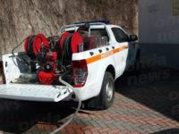 Sospensione del servizio idrico nel centro abitato di Caggiano. Operai e volontari a lavoro