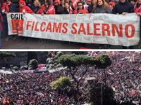 Sindacati in piazza a Roma contro le politiche economiche del governo. Presenti Vallo di Diano e Cilento