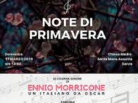 """Domani a Sanza il concerto """"Note di Primavera"""" dedicato alle colonne sonore di Ennio Morricone"""