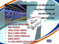Gli atleti Metasport domani a Bellizzi per partecipare alla 6^ tappa del Campionato Regionale Nuoto