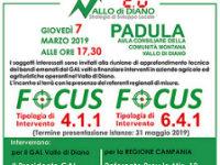 """Il 7 marzo a Padula l'incontro """"Vallo di Diano 2.0 – Strategia di Sviluppo Locale"""" con il GAL"""