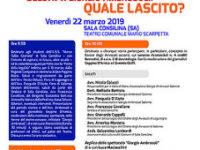 Festa della Legalità. Domani a Sala Consilina doppio appuntamento nel nome di Giorgio Ambrosoli