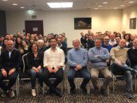 I dipendenti della Banca Monte Pruno in trasferta a Monaco di Baviera per una convention formativa