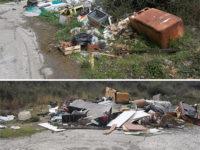 Discariche a cielo aperto a Sapri. Elettrodomestici, amianto e altri rifiuti speciali abbandonati