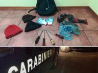 Sorpresi con materiali da scasso e copricapo sull'A2 del Mediterraneo. 6 arresti